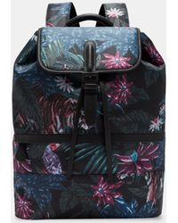 Ted Baker - Jungle Print Backpack - Lyst