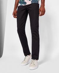 Ted Baker - Straight Fit Over Dyed Jeans - Lyst