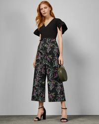 Ted Baker - Fortune Culotte Jumpsuit - Lyst