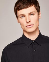 Ted Baker - Spotted Phormal Cotton Shirt - Lyst