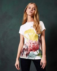 Ted Baker - Tranquility Fitted T-shirt - Lyst