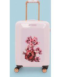 Ted Baker - Large Splendour Print 31-inch Hard Shell Spinner Suitcase - Lyst