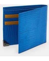 Ted Baker - Lizard Bi-fold Wallet - Lyst