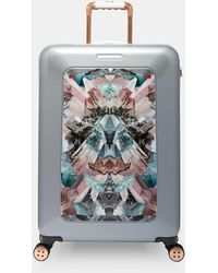 Ted Baker - Mirrored Minerals Medium Suitcase - Lyst