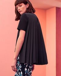 Ted Baker - Pleated Back Top - Lyst