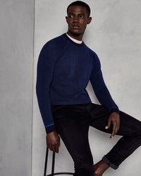 Ted Baker - Ottoman Crew Neck Sweater - Lyst
