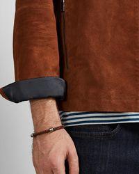 Ted Baker - Two-tone Weaved Bracelet - Lyst