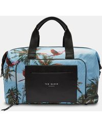 Ted Baker - Printed Golf Holdall - Lyst