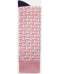 Ted Baker - Golf Printed Socks - Lyst