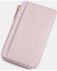 Ted Baker - Leather Card Holder - Lyst