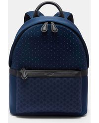 Ted Baker - Spot And Star Print Backpack - Lyst