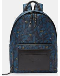 Ted Baker - Primate Print Backpack - - Lyst
