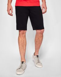 Ted Baker - Spotted Cotton Shorts - Lyst
