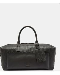 Ted Baker - Embossed Leather Holdall - Lyst