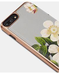 21e191369 Lyst - Ted Baker Shannon Iphone 7   7 Plus Mirror Folio Case ...