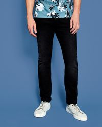 Ted Baker - Tapered Washed Jeans - Lyst