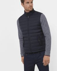 Ted Baker - Dylan Quilted Down Filled Gilet - Lyst