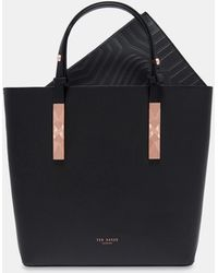 Ted Baker - Adjustable Handle Zip Shopper - Lyst