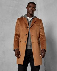 Ted Baker - Cashmere Overcoat - Lyst