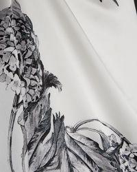 Ted Baker - Narrnia Long Silk Scarf - Lyst