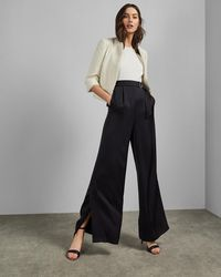 Ted Baker - Cropped Boucle Jacket - Lyst