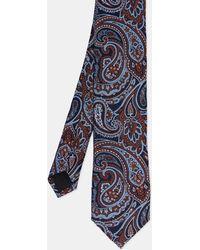 Ted Baker - Paisley Print Silk Tie - Lyst