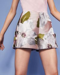Ted Baker - Chatsworth Bloom Jacquard Shorts - Lyst
