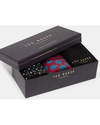 Ted Baker - Organic Cotton Sock Set - Lyst