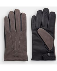 Ted Baker - Suede Gloves - Lyst