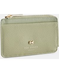 Ted Baker - Bow Detail Leather Card Holder - Lyst