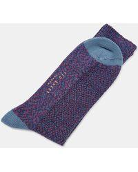 Ted Baker - Spot Print Cotton Socks - Lyst