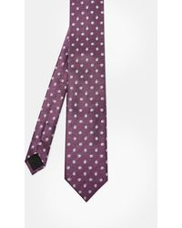 Ted Baker - Spotted Silk Tie - Lyst