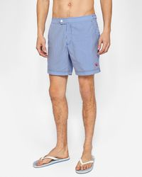 Ted Baker - Striped Swim Shorts - Lyst