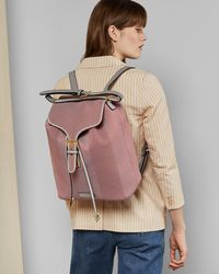 Ted Baker - Knitted Backpack - Lyst