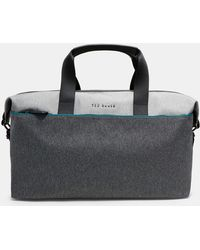Ted Baker - Two-tone Holdall - Lyst