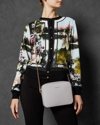 Ted Baker - Leather Camera Bag - Lyst