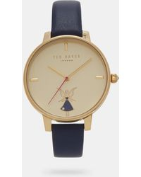 Ted Baker - Fairy Detail Leather Watch - Lyst