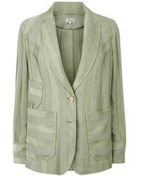 Temperley London - Sail Boat Tailored Jacket, Khaki - Lyst