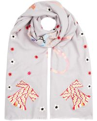 Temperley London - Kite Embroidered Shawl - Lyst