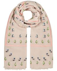Temperley London - Maze Embroidery Scarf - Lyst