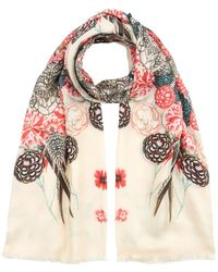 Temperley London - Rooster Printed Scarf - Lyst