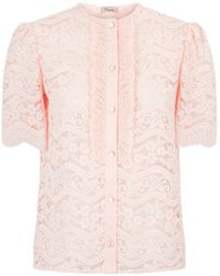 Temperley London - Lunar Lace Top - Lyst
