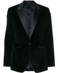 Dolce & Gabbana - Velvet Jacket - Lyst