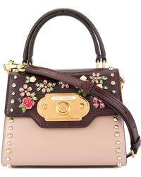 Dolce & Gabbana - Welcome Bicolor Mini Bag - Lyst