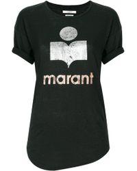 Étoile Isabel Marant - Koldi Linen T-shirt - Lyst