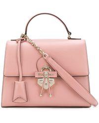 af0064e49d88 Ferragamo Medium Aileen Shoulder Bag in Pink - Lyst