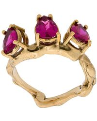 Voodoo Jewels - Thalassa Ring With Stones - Lyst