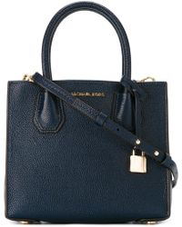 MICHAEL Michael Kors - Mercer Leather Messenger Bag - Lyst