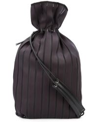 Issey Miyake - Ribbed Backpack - Lyst