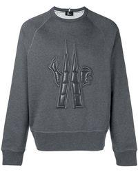 Moncler Grenoble - Embossed Logo Sweatshirt - Lyst